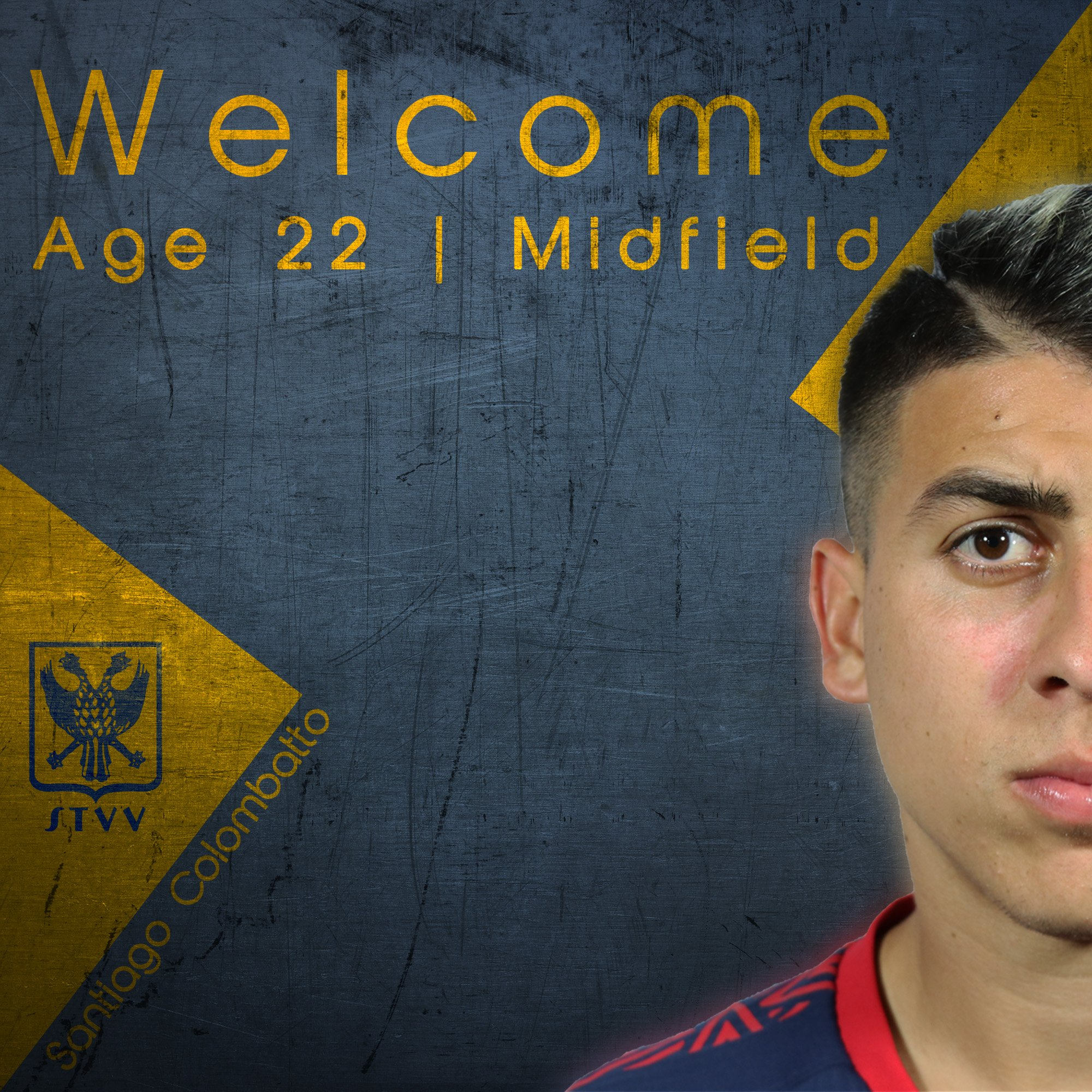#WelcomeSantiago