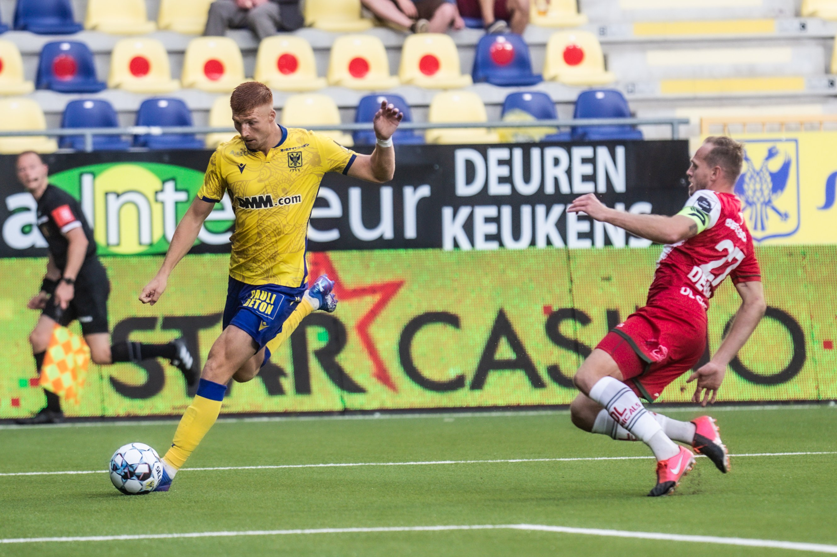 Maximiliano Caufriez leaves STVV for the Russian team Spartak Moscow