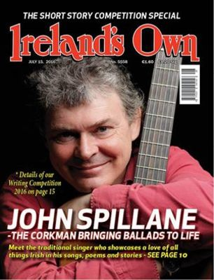 Featured image for blog post 'I'm on the cover of Ireland's Own! July 2016!'