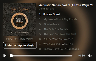 Featured image for news item 'Acoustic Series 1 Pre- order '
