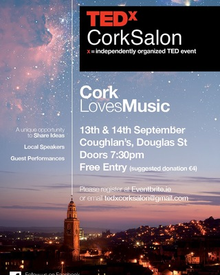 Featured image for news item 'Ted x Cork Loves Music performance'