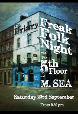 Featured image for news item 'Freak folk night @thefriary '
