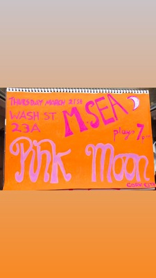 Featured image for news item 'Pink Moon , 21st, March, 23A Washington Street Cork City 7pm'