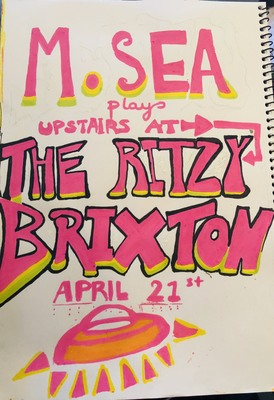 Featured image for news item 'M.SEA PLAYS UPSTAIRS AT THE RITZY BRIXTON LONDON !I LOVE YOU BRIXTON'