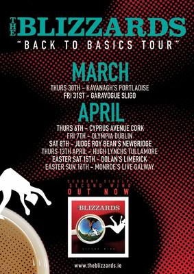 Featured image for news item 'The Blizzards  ''Back to Basics Tour'' March -April'