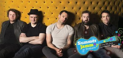 Featured image for news item 'The Blizzards play Summer Jamm in Strabane'