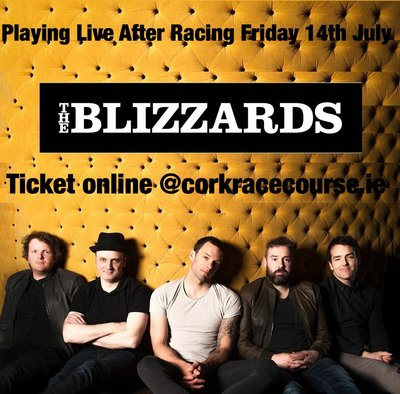 Featured image for news item 'The Blizzards pay Cork Race Course July 14th '