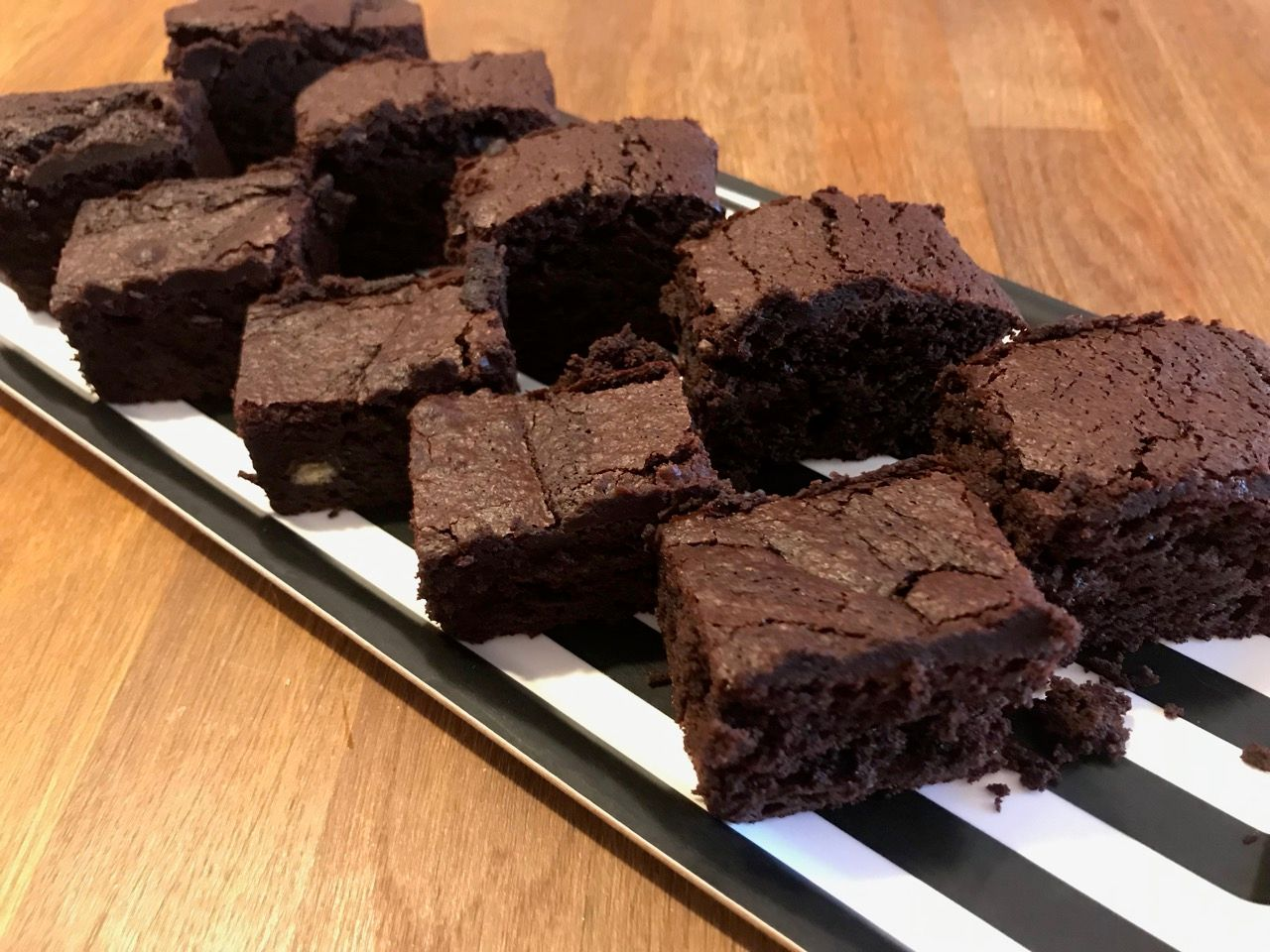 Chocolate Brownies – spelt flour