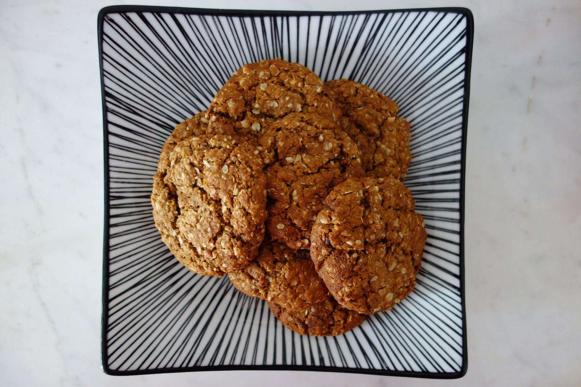 Anzac Biscuits – spelt flour