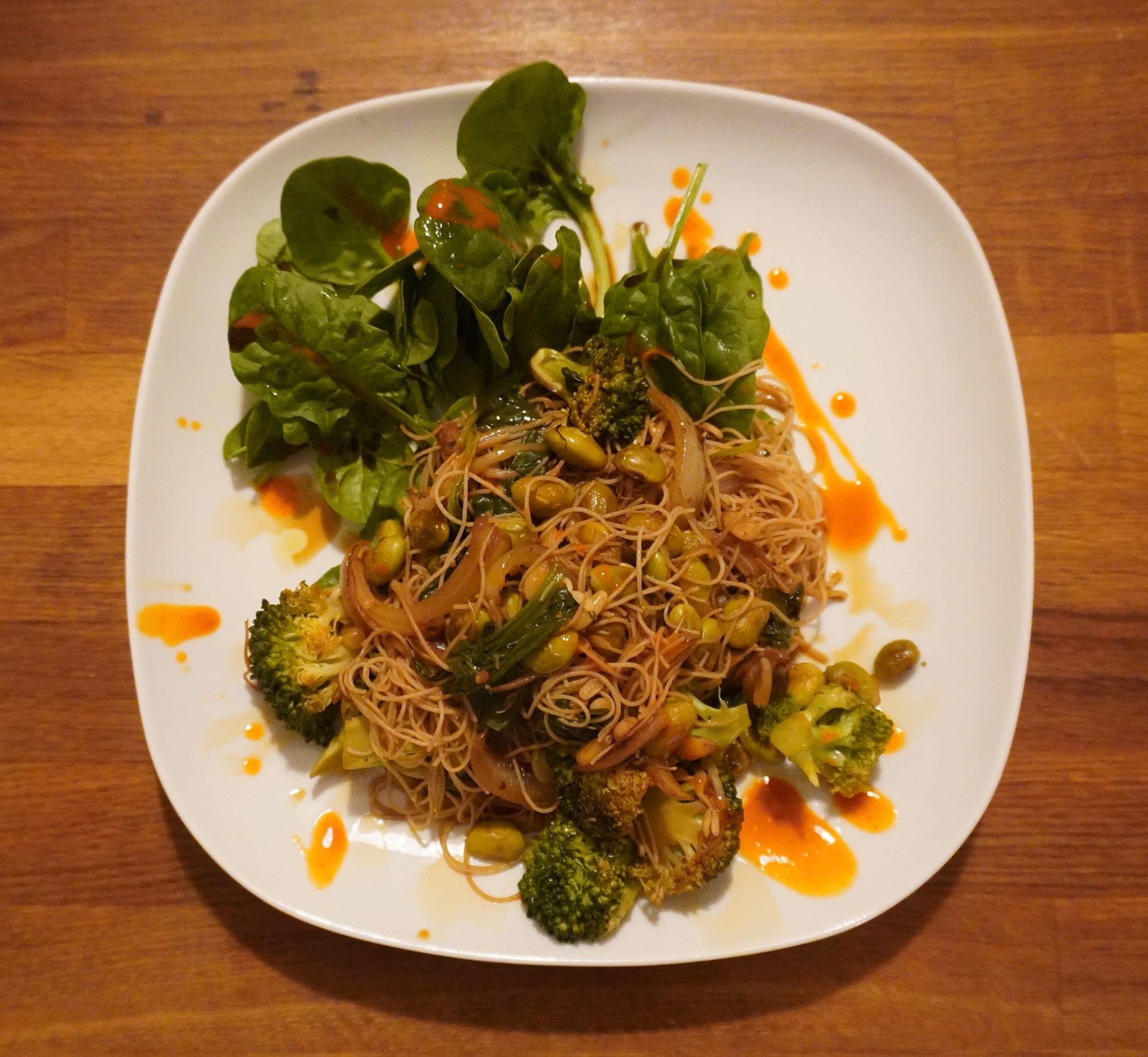 Quick Vege Noodles
