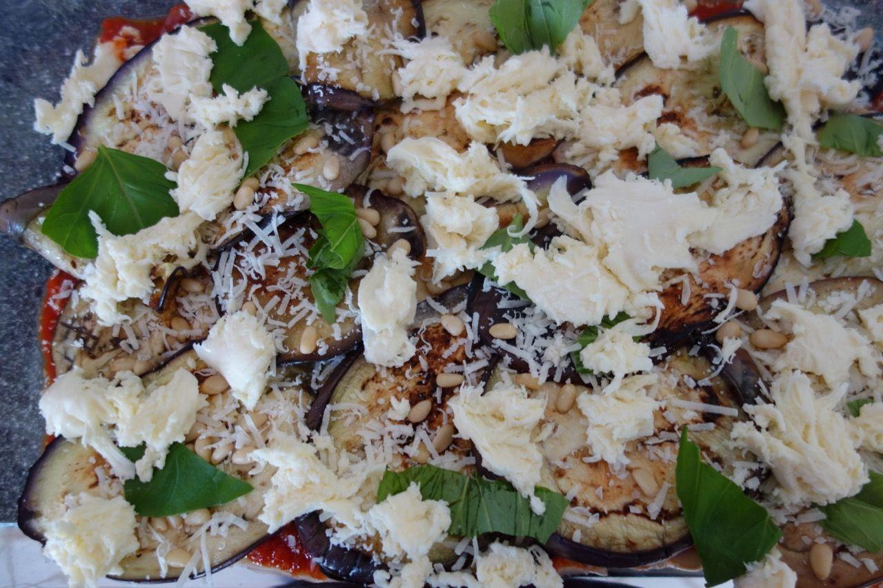 Quick Eggplant Bake