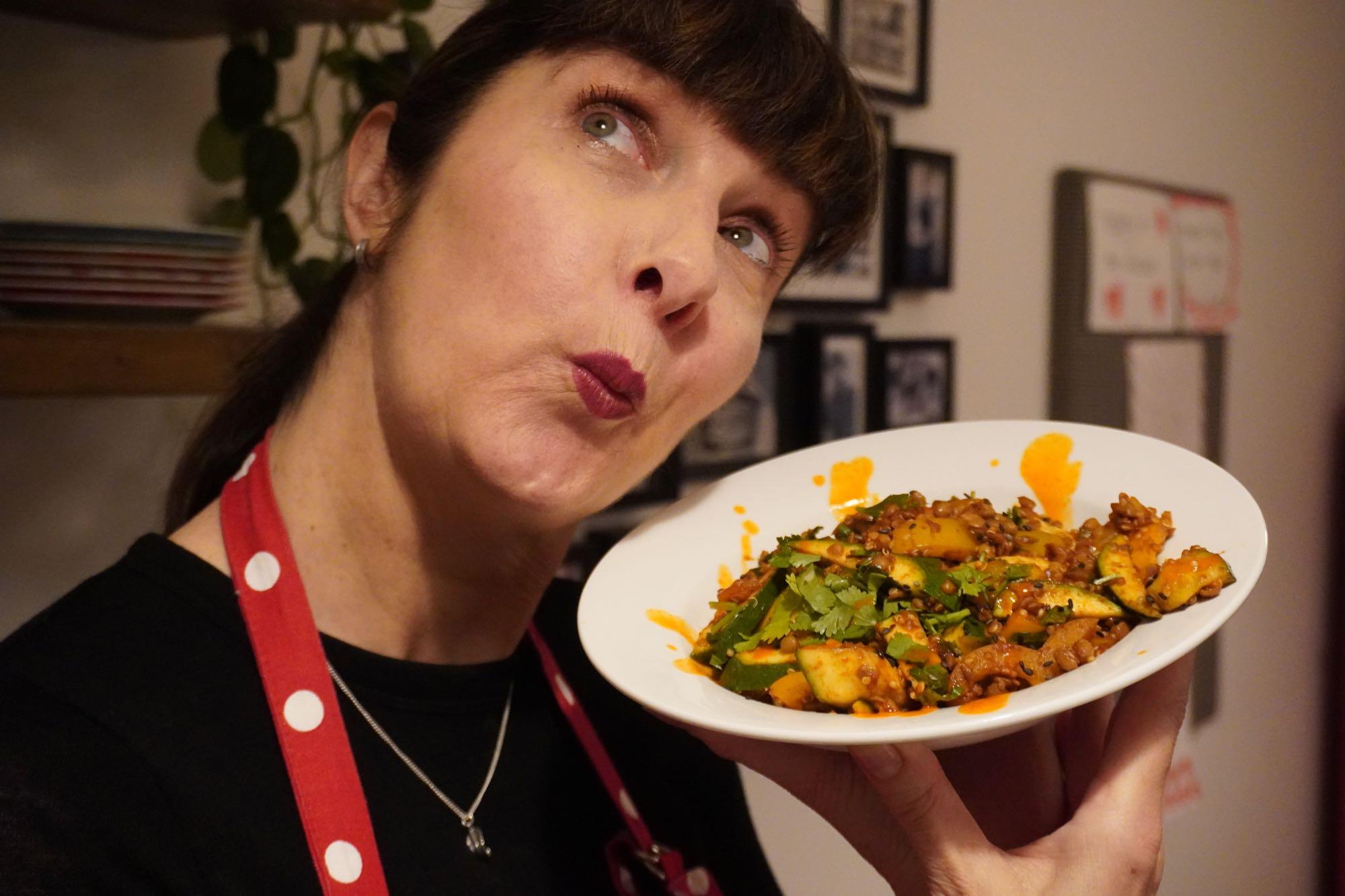 Vegan Spicy Lentils & Quinoa