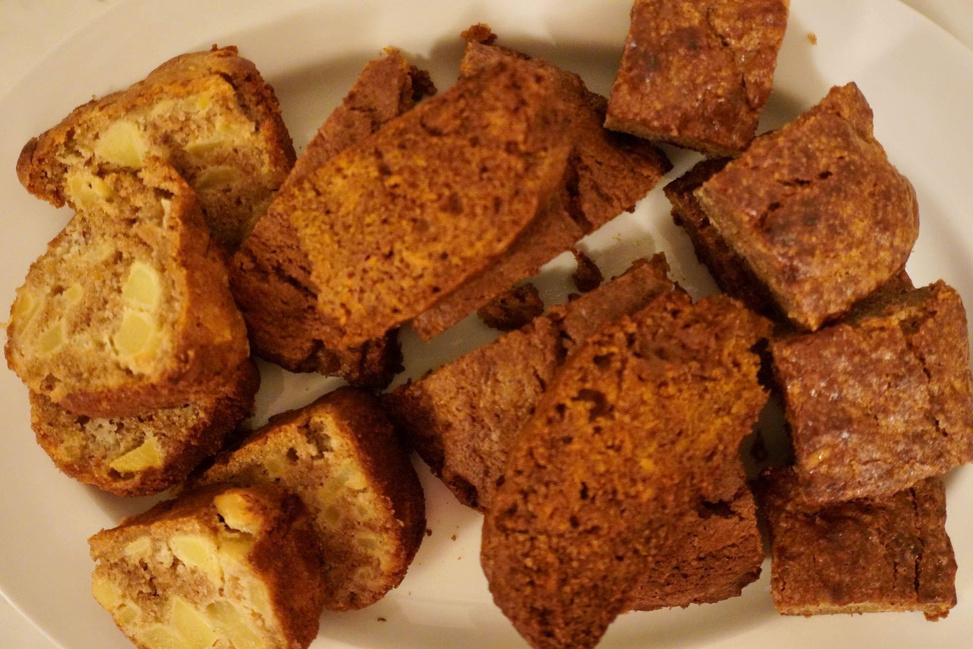 Healthy Buckwheat Cake - 3 ways - Banana, carrot and apple