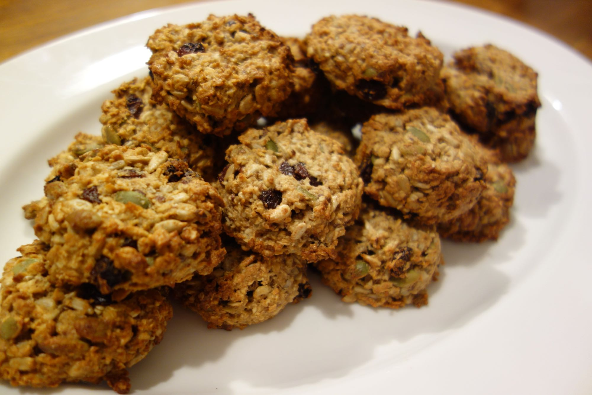 Healthy Breakfast Cookies + Spelt Flour – no eggs