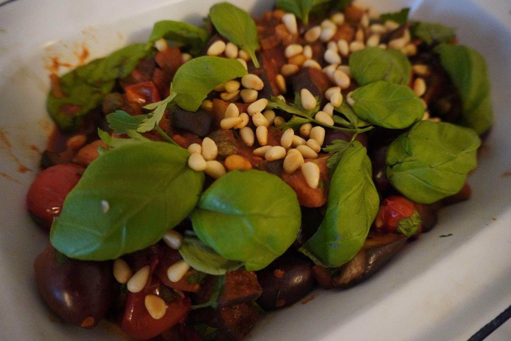 Caponata – Aubergine Stew/Salad