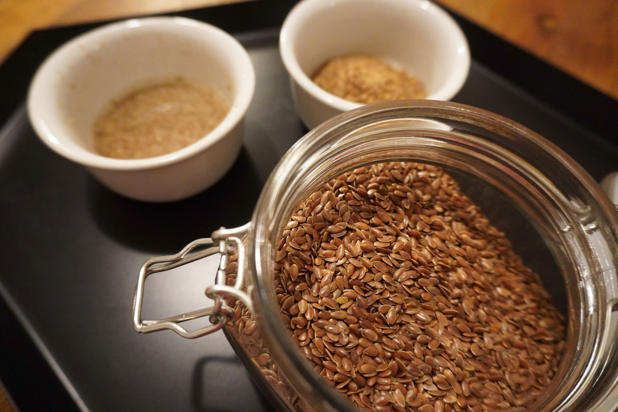 How to make a flax egg using flax seeds