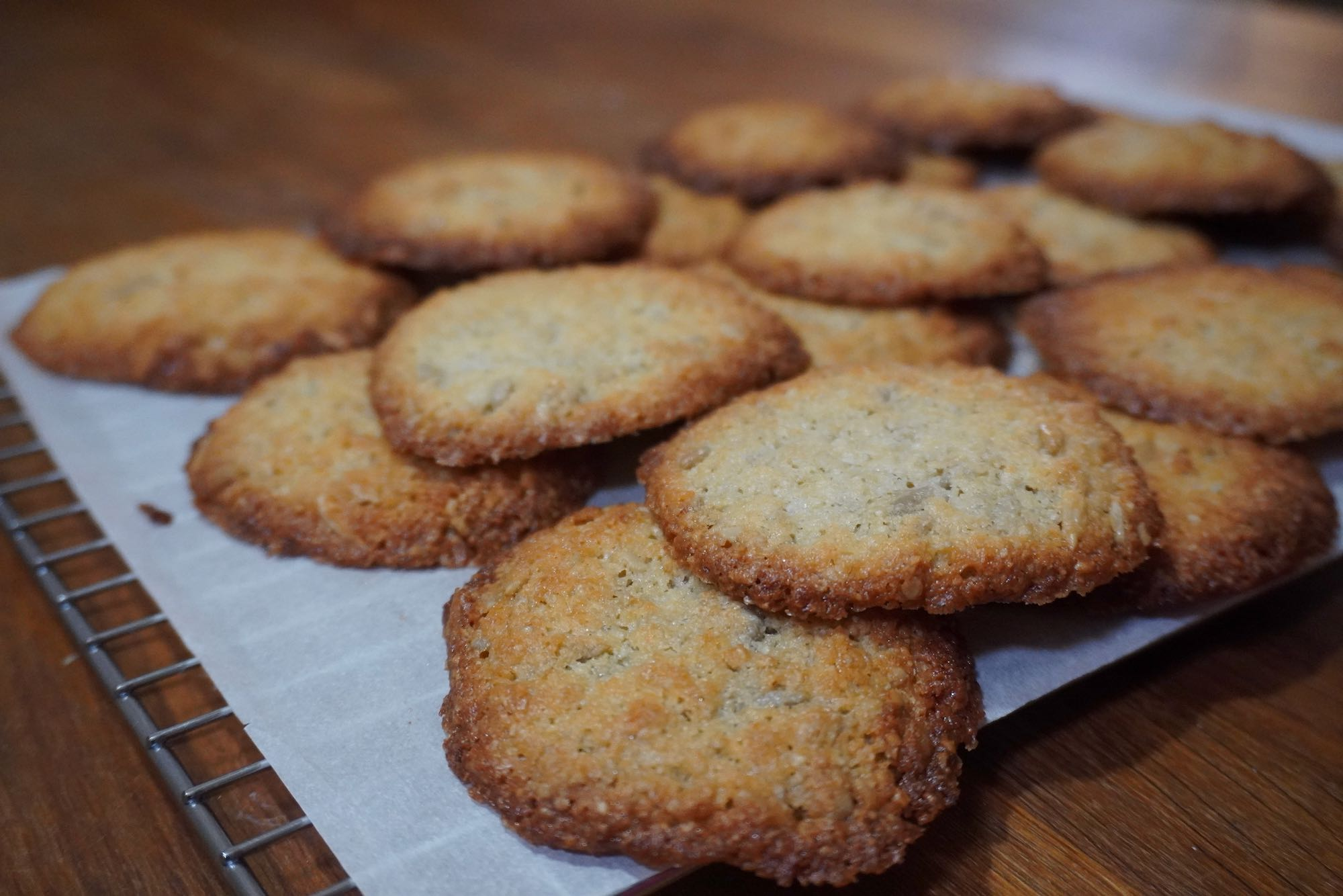 Sunflower Seed Cookies – Gluten Free