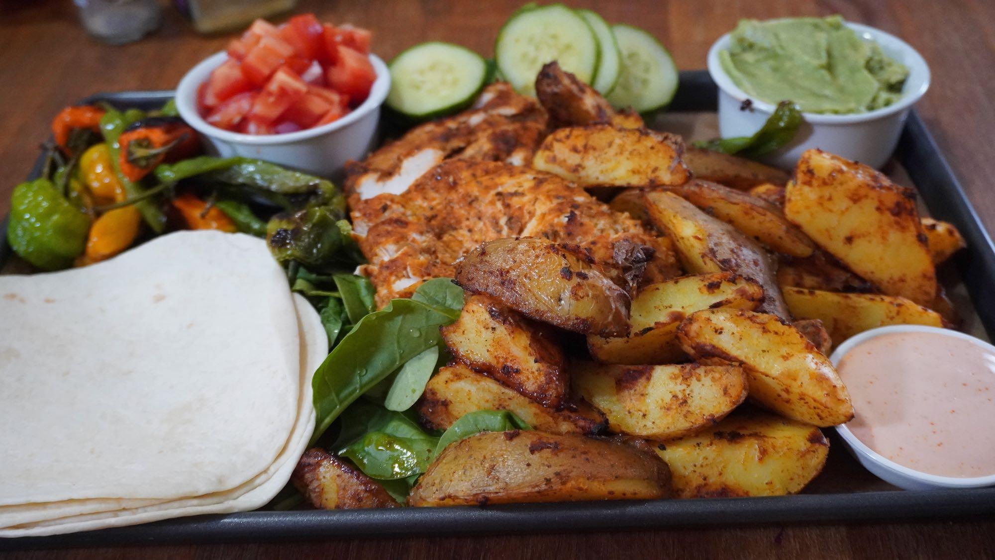 Taco Platter – Quick Dinner Idea for 2