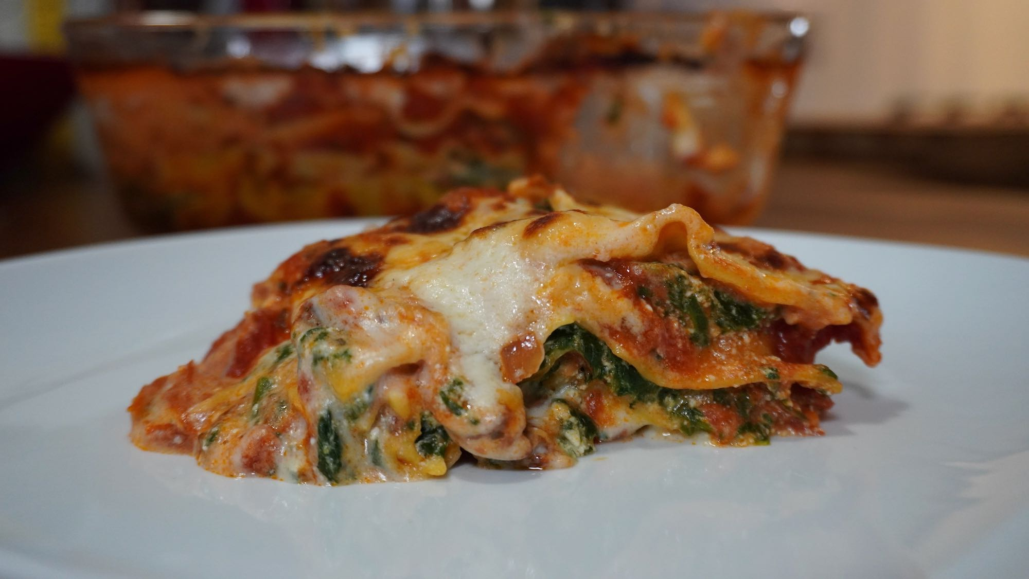 Vegetarian Lasagne: Spinach and Ricotta