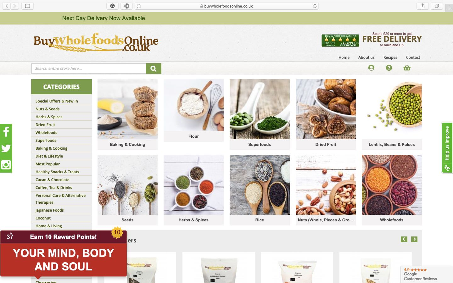 Where to buy flour & baking ingredients online UK