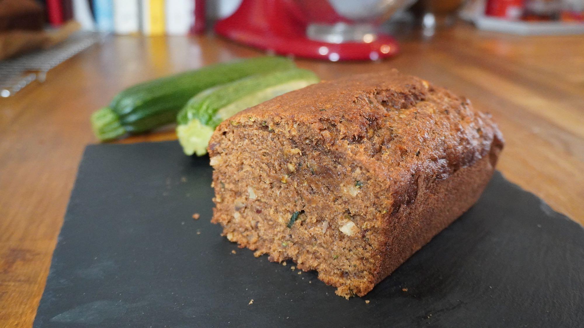 Spelt Zucchini (Courgette) Bread