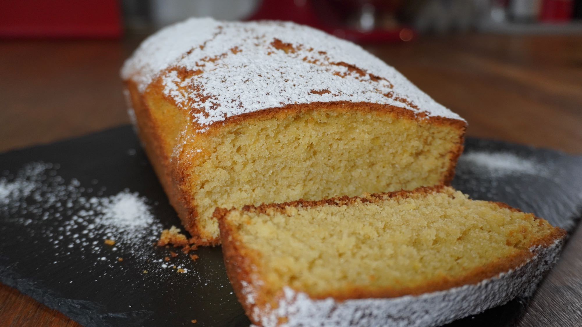 Moist Lemon Olive Oil Cake