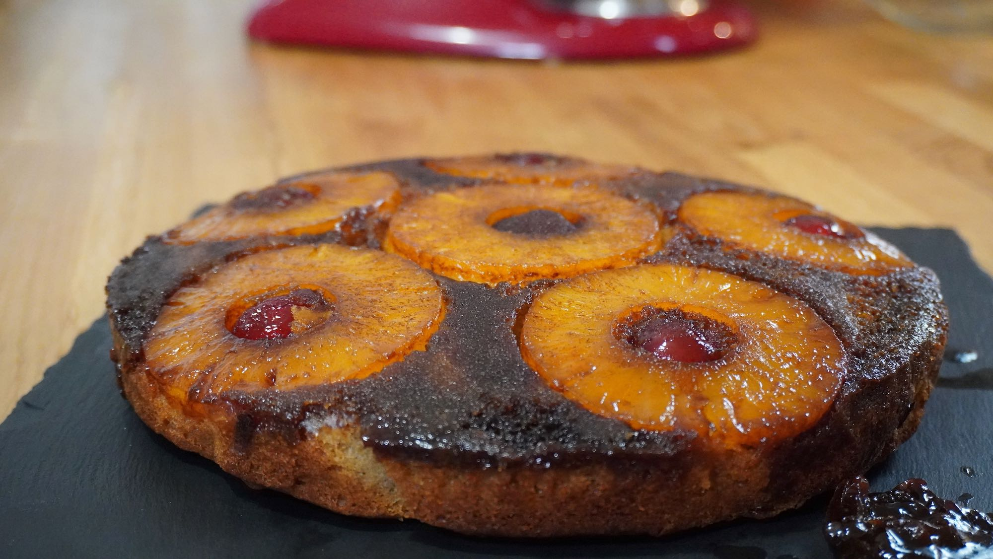 Pineapple Upside Down Cake with Spelt flour
