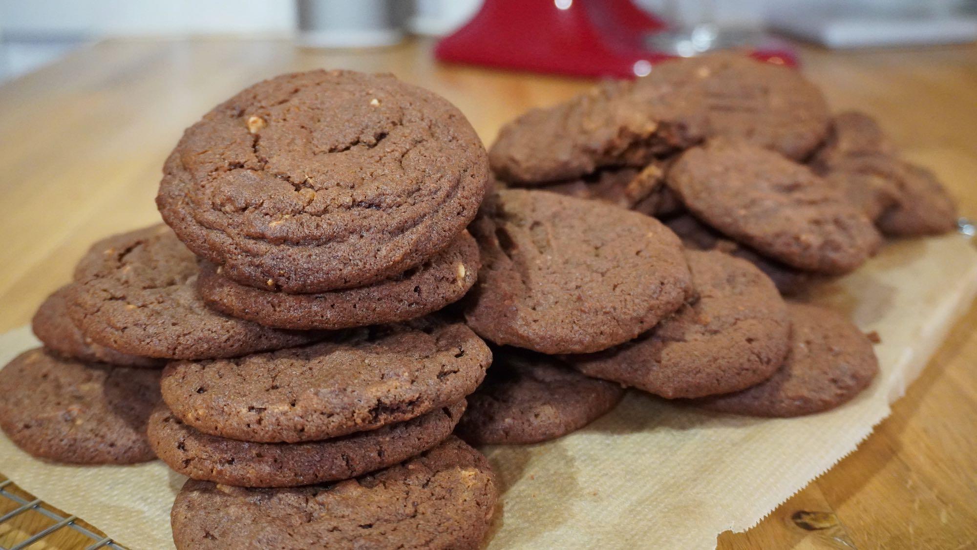 Spelt Peanut Butter Cookies
