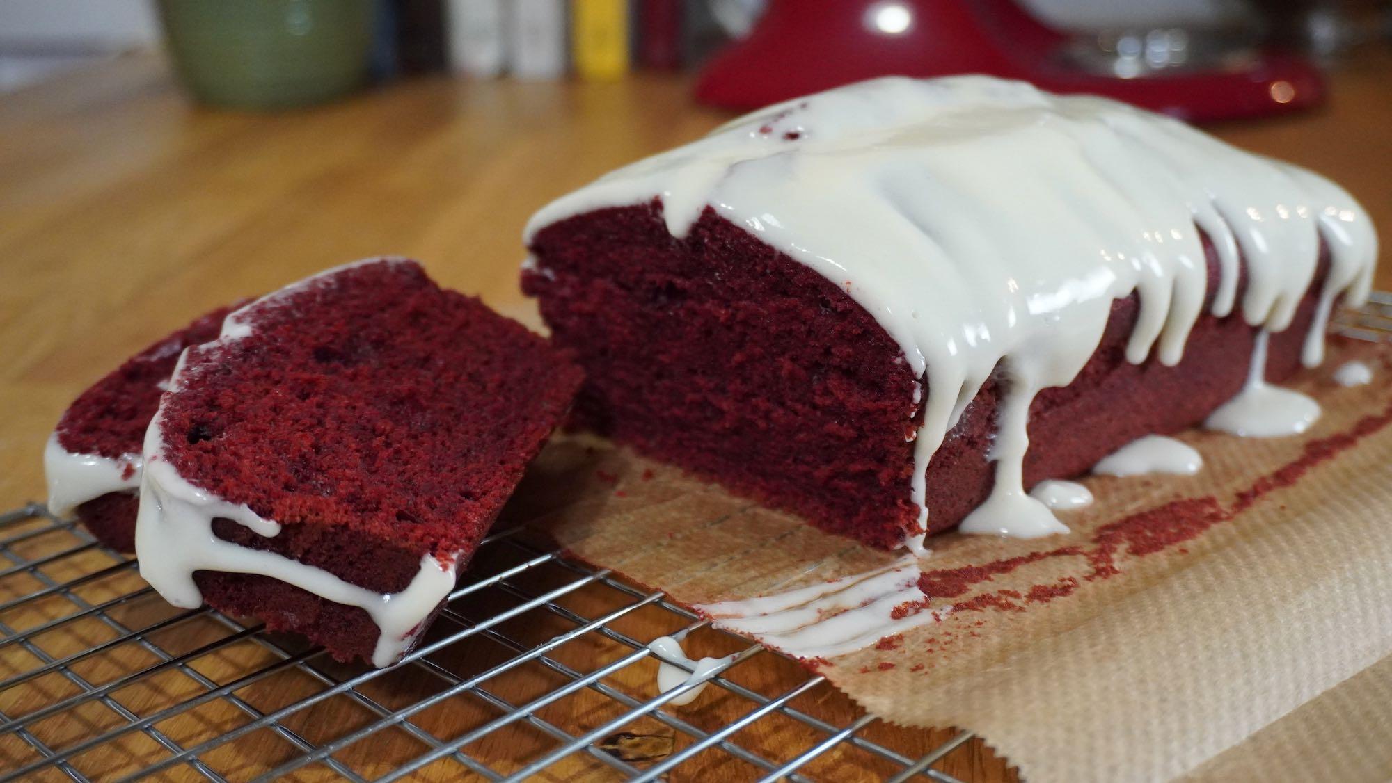 Red Velvet Cake with Spelt Flour