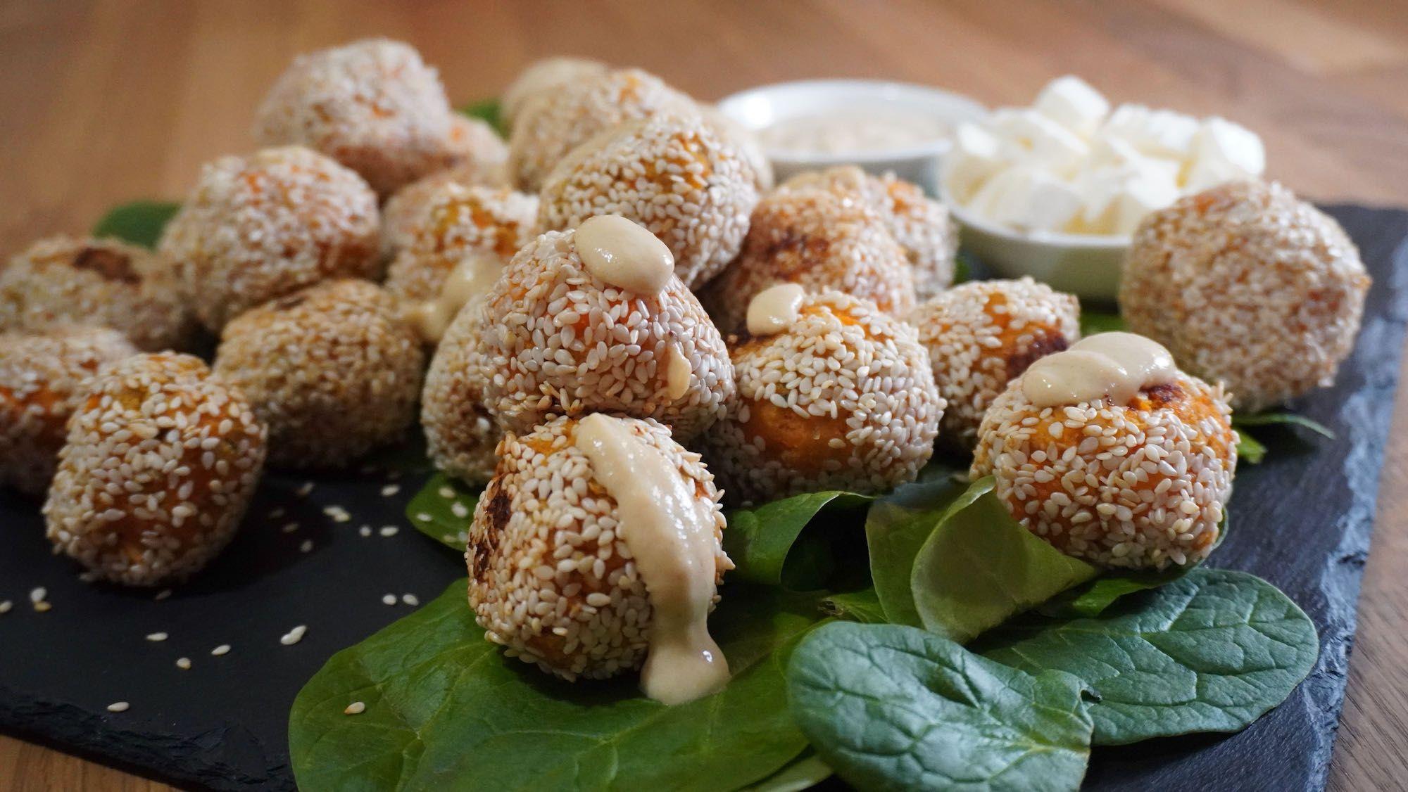 What's for Dinner? Sweet Potato Balls