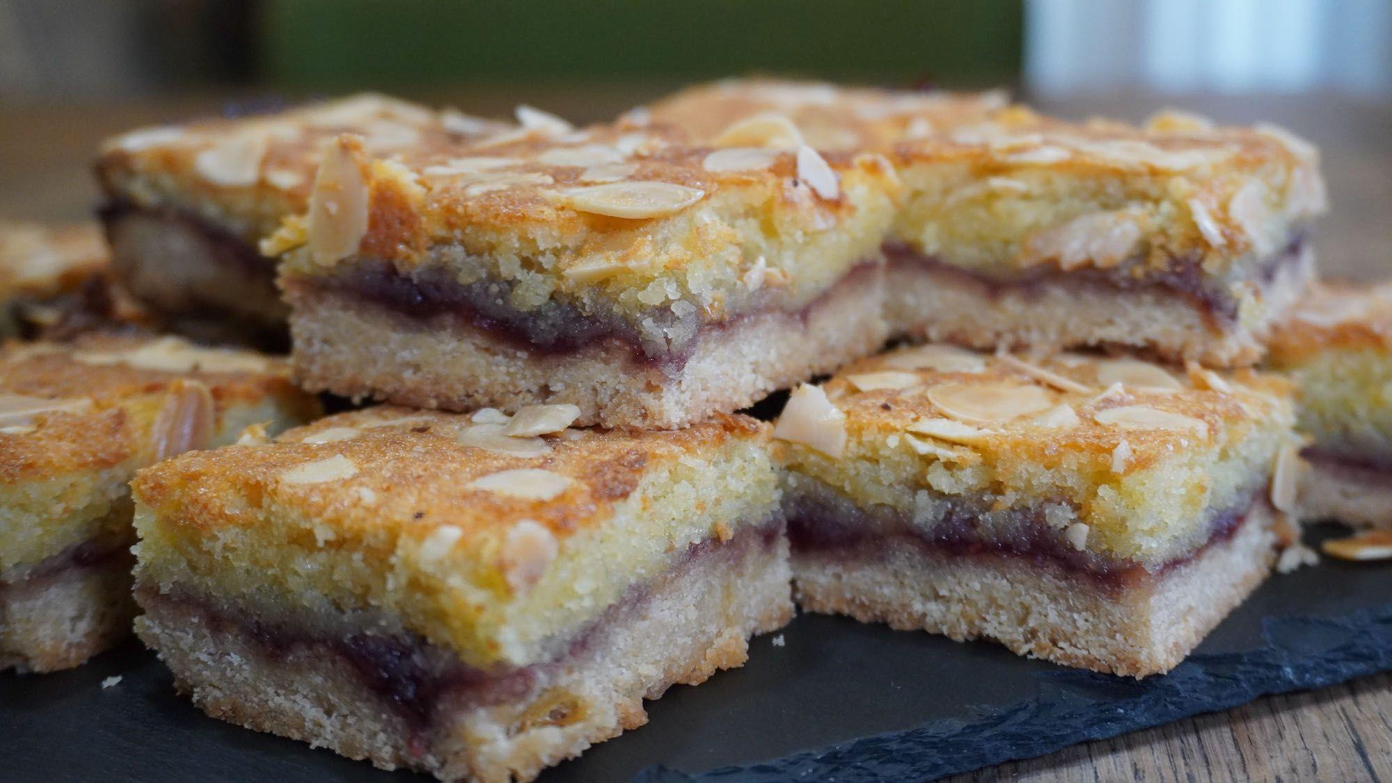 Easy Spelt Bakewell Slice 🇬🇧