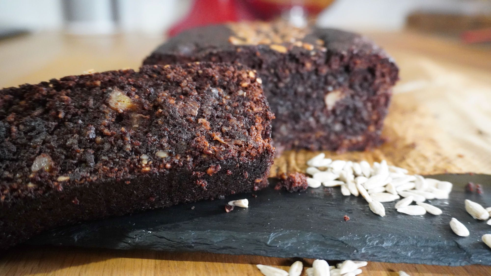 Flourless Chocolate Banana Bread (nut-free)