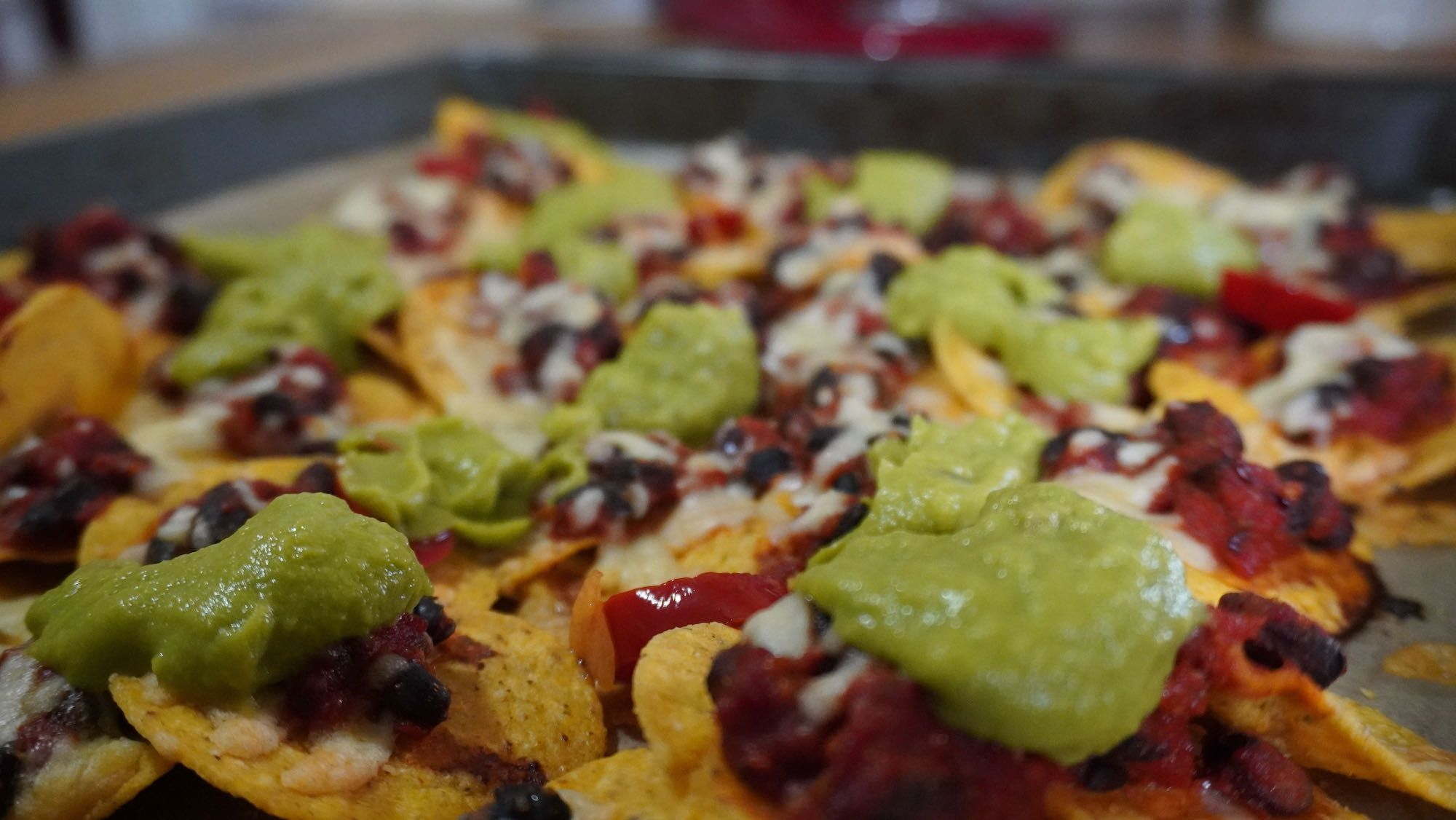 What's for Dinner? Sheet Pan Nachos