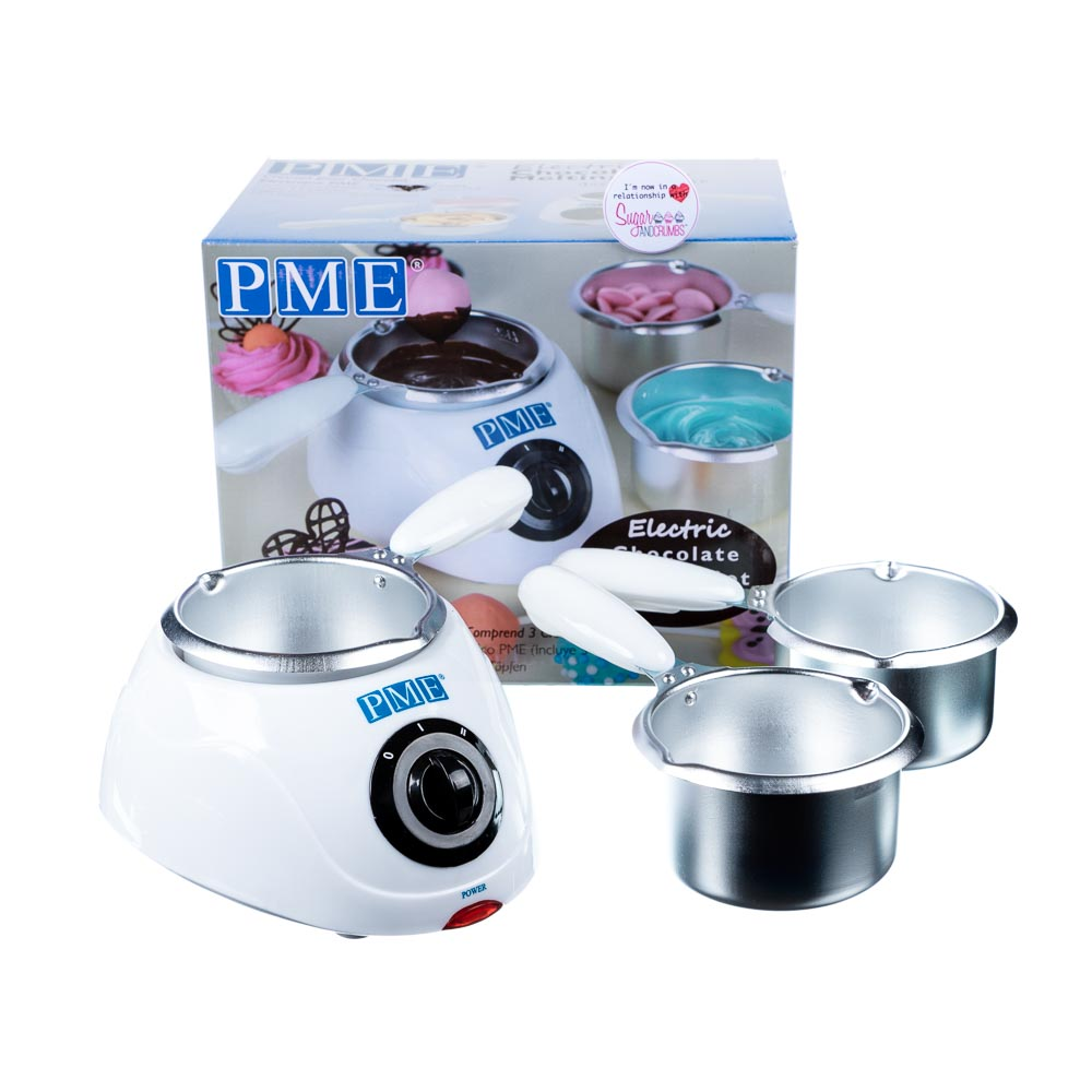 Electric Chocolate Melting Machine With Three Pots - PME