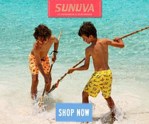 kids love Sunuva Boys UV Swimwear & Beachwear