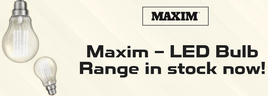 Maxim LED light bulbs