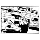COLOURING BOARD RACING CARS