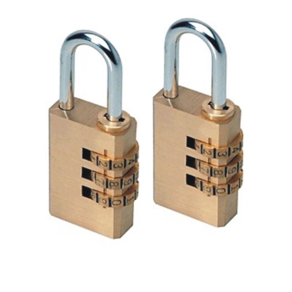 2pc Heavy Duty Combination Locks