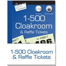 JUST STATIONERY - RAFFLE TICKETS - 500 PACK