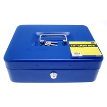 "SWL - 10"" CASH BOX 2 KEYS INCLUDED"