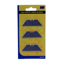 12PC UTILITY KNIFE BLADES