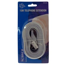 15M TEL EXTENSION LEAD