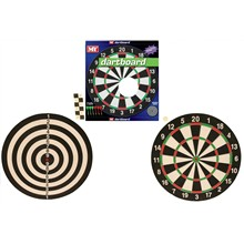"M.Y - 17"" DART BOARD 6 DARTS INCLUDED"