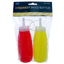 SWL - SQUEEZY SAUCE BOTTLES - 2 PACK