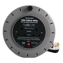2 WAY 10M CABLE REEL
