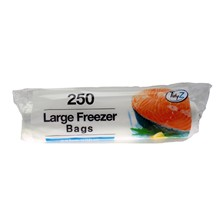 TIDYZ - LARGE FREEZER BAGS - 250 PACK
