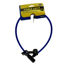 """SWL - BICYCLE CABLE LOCK - 27"""""""