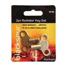 BLACKSPUR - RADIATOR KEY - 2 PACK SET