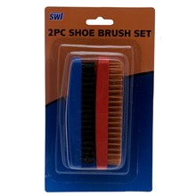 2PC SHOE BRUSH SET SWL