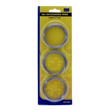 SWL - GALVANISED WIRE- 3 PACK